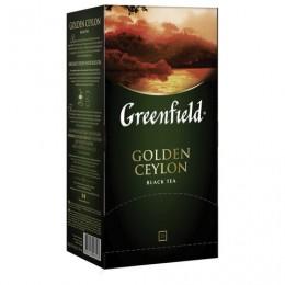 Чай GREENFIELD (Гринфилд) Golden Ceylon, черный, 25 пакетиков в конвертах по 2 г