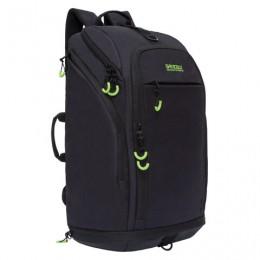 Рюкзак GRIZZLY деловой, с отделением для обуви, черный, 54x32x21 см, RQ-906-1/2, RQ-906-11/2