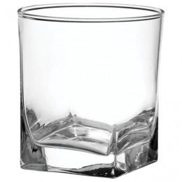 Набор стаканов для виски, 6 шт., объем 310 мл, низкие, стекло,