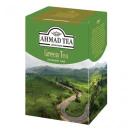 Чай AHMAD (Ахмад) Green Tea, зеленый листовой, картонная коробка, 200 г/, 1310-1