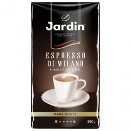 Кофе молотый JARDIN (Жардин) Espresso di Milano, натуральный, 250 г, вакуумная упаковка, 0563-26