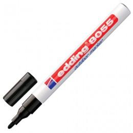 Маркер перманентный влаго-светостойкий для наружных работ EDDING 8055, ЧЕРНЫЙ, 1-2 мм, E-8055/1-B/1