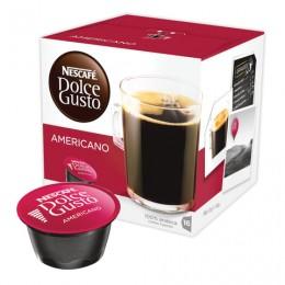 Капсулы для кофемашин NESCAFE Dolce Gusto Americano, натуральный кофе, 16 шт. х 10 г, 12115461