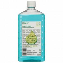 Мыло жидкое антибактериальное 1 л ЛЮИР, увлажняющее, под дозатор