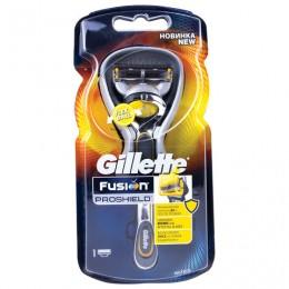 Бритва GILLETTE (Жиллет) Fusion ProShield, с 1 сменной кассетой, для мужчин, GIL-81618298