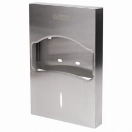 Диспенсер для покрытий на унитаз LAIMA PROFESSIONAL INOX, 1/4 сложения, нержавеющая сталь, матовый, 605704