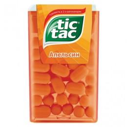 Драже TIC TAC (Тик Так), со вкусом апельсина, 16 г, пластиковая баночка, 77133491