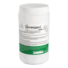 Средство дезинфицирующее 1 кг АЛМАДЕЗ-ХЛОР, таблетки 300 шт., АЛ-ХТ409