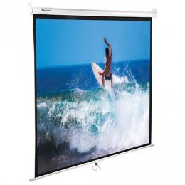 Экран проекционный BRAUBERG WALL, матовый, настенный, 150х150 см, 1:1, 236725