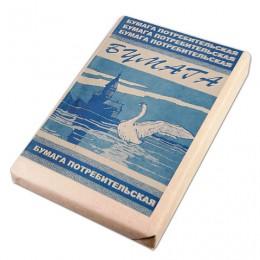 Бумага для пишущих машин А4, ГАЗЕТНАЯ, 48,8 г/м2, 500 листов, КОНДОПОГА