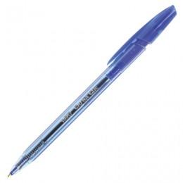 Ручка шариковая автоматическая BIC Cristal Clic, корпус тонированный, СИНЯЯ, узел 1 мм, линия письма 0,32 мм, 8507332