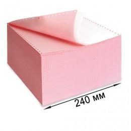 Бумага самокопирующая с перфорацией цветная, 240х305 мм (12), 2-х слойная, 900 комплектов, DRESCHER, 110694