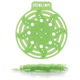 Коврики-вставки для писсуара, ЭКОС (POWER-SCREEN), на 30 дней каждый, комплект 2 шт., аромат Яблоко, цвет салатовый, PWR-2G