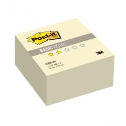 Блок самоклеящийся (стикер) POST-IT Basic, 76х76 мм, 400 л., желтый, 636R-BY
