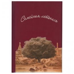 Книга Семейная летопись, формат А4, 60 листов, твердый переплет, вкладыш А2, ГДР-1