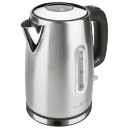 Чайник SCARLETT SC-EK21S68, 1,7 л, 2200 Вт, закрытый нагревательный элемент, сталь