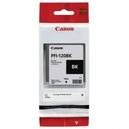 Картридж струйный CANON (PFI-120BK) для imagePROGRAF TM-200/205/300/305, черный, 130мл, ориг, 2885C001