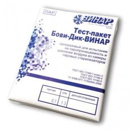 Индикатор стерилизации БОВИ-ДИК-ВИНАР, комплект 6 шт., без журнала, ш/к ХХХХХ