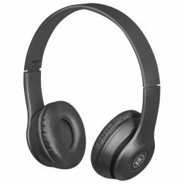 Наушники с микрофоном (гарнитура) DEFENDER FreeMotion B515, Bluetooth,беспровод.,с оголовьем,черные, 63515