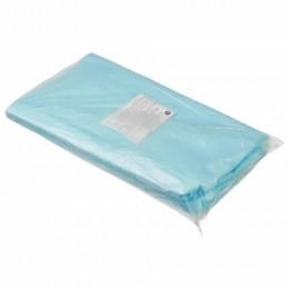 Простыни одноразовые ГЕКСА нестерильные, комплект 20 шт. 70х80 см, спанбонд 42 г/м2, голубые