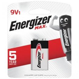 Батарейка ENERGIZER Max, Крона (6LR61, 6LF22, 1604A), алкалиновая, 1 шт, в блистере, (ш/к 10297), E301531801