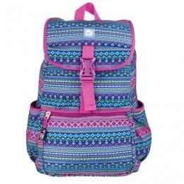 Рюкзак BRAUBERG для старшеклассников/студентов/молодежи, узоры, Орнамент, 15 литров, 34х25,5х12,5 см, 226359
