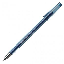 Ручка гелевая ERICH KRAUSE Gelica, СИНЯЯ, корпус синий, игольчатый узел 0,5 мм, линия письма 0,4 мм, 45471