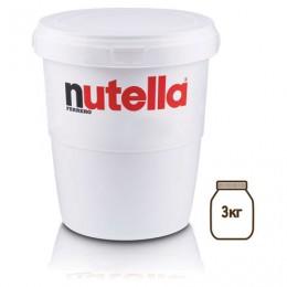 Паста ореховая NUTELLA (Нутелла), 3000 г, пластиковое ведро, 77153144