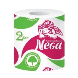 Бумага туалетная бытовая, 20 м, NEGA (