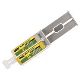 Клей эпоксидный UHU Plus EndFest, двухкомпонентный, 25г, в шприце, в блистере, 45585