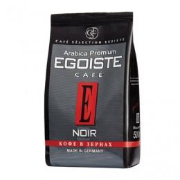 Кофе в зернах EGOISTE Noir, натуральный, 500 г, 100% арабика, вакуумная упаковка, 10229
