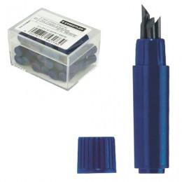 Грифели для циркуля STAEDTLER (Германия), КОМПЛЕКТ 4 штуки по 20 мм,в тубе, HB, толщина 2 мм, 556 E4-HB