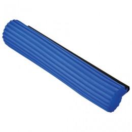 Насадка МОП для швабры самоотжимной роликовой, PVA 27 см, синяя, YORK