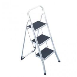Лестница-стремянка ARNO, 69 см, 3 прорезиненные ступени 20х30 см, стальная, нагрузка до 150 кг, 4397-90