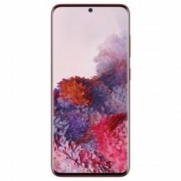"Смартфон SAMSUNG Galaxy S20, 2 SIM, 6,2"", 4G (LTE), 64/10 + 12 + 12 Мп, 128 ГБ, красный, металл, SM-G980FZRDSER"