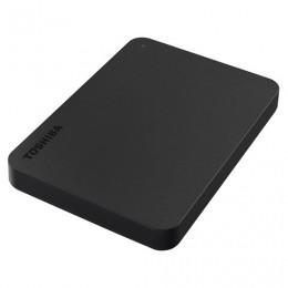 Диск жесткий внешний HDD TOSHIBA Canvio Basics 500GB, 2.5, USB 3.0, черный, HDTB405EK3AA