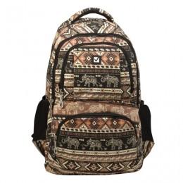 Рюкзак BRAUBERG для старшеклассников/студентов/молодежи, узоры, Слоны, 27 литров, 47х32х14 см, 226354