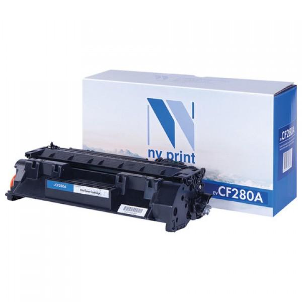 Картридж лазерный NV PRINT (NV-CF280A) для HP LaserJet Pro M401/M425, ресурс 2700 стр.