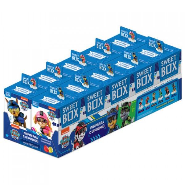 Жевательный мармелад с игрушкой Sweet Box (СВИТБОКС)