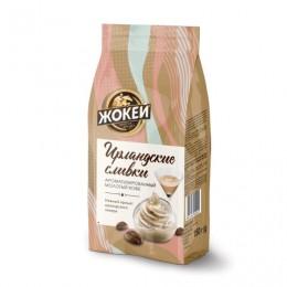 Кофе молотый ЖОКЕЙ Ирландские сливки, натуральный, 150 г, вакуумная упаковка, 0509-20