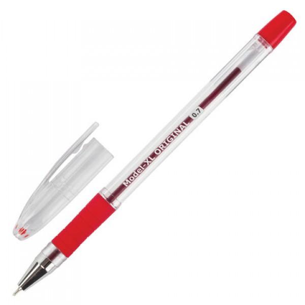 Ручка шариковая масляная с грипом BRAUBERG