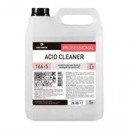 Средство моющее универсальное 5 л, PRO-BRITE ACID CLEANER, кислотное, пенное, концентрат, 166-5