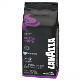 Кофе в зернах LAVAZZA Gusto Forte Expert, 1000 г, вакуумная упаковка, 2868