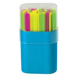 Счетные палочки ПИФАГОР, 50 штук, ассорти, в пластиковом пенале, 104753