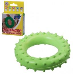 Эспандер кистевой массажный ПРЕСТИЖ, 10 кг, в подарочной упаковке, 631