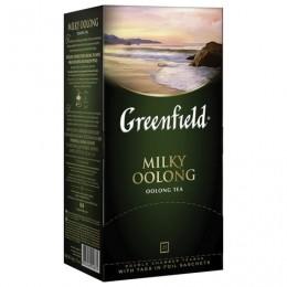 Чай GREENFIELD (Гринфилд) Milky Oolong (Молочный улун), улун с добавками, 25 пакетиков по 2 г, 1067-15