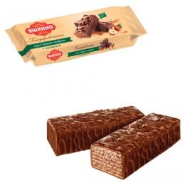 Вафли ЯШКИНО Глазированные с орешками, с какао, фундуком и арахисом, 200 г, ЯВ218
