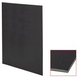Пенокартон матовый, 70*100 см, толщина 5 мм, черный, BRAUBERG, код 1с, 112480