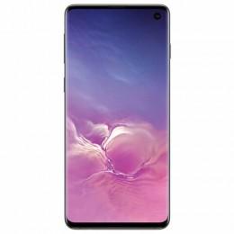 "Смартфон SAMSUNG Galaxy S10, 2 SIM, 6,1"", 4G (LTE), 16/10 + 8 + 12 + 12 Мп, 128 ГБ, оникс, металл, SM-G973FZKDSER"