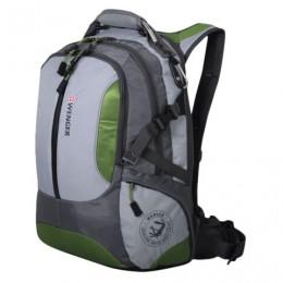Рюкзак WENGER, универсальный, зелено-серый, Large Volume Daypack, 30 л, 36х17х50 см, 15914415